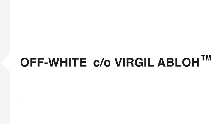 Off White Font