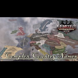 Steam workshop complex country names kaiserreich gumiabroncs Gallery
