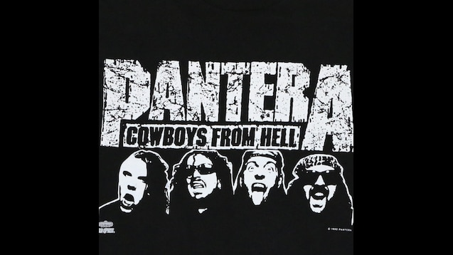 Steam Workshop Pantera Cowboys From Hell