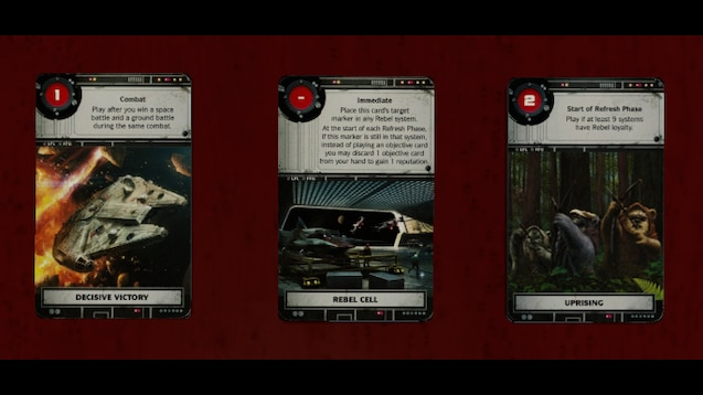 Steam Workshop Star Wars Rebellion Rise Of The Empire Expansion Objective Cards