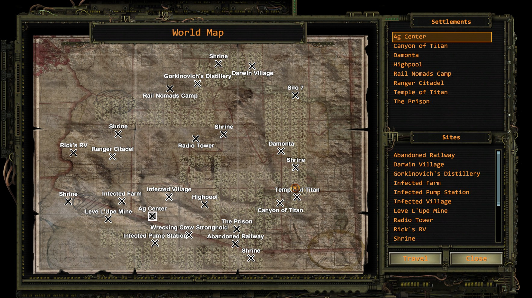 Map Of Arizona Wasteland 2.Steam Community Screenshot Wasteland 2 Arizona Map