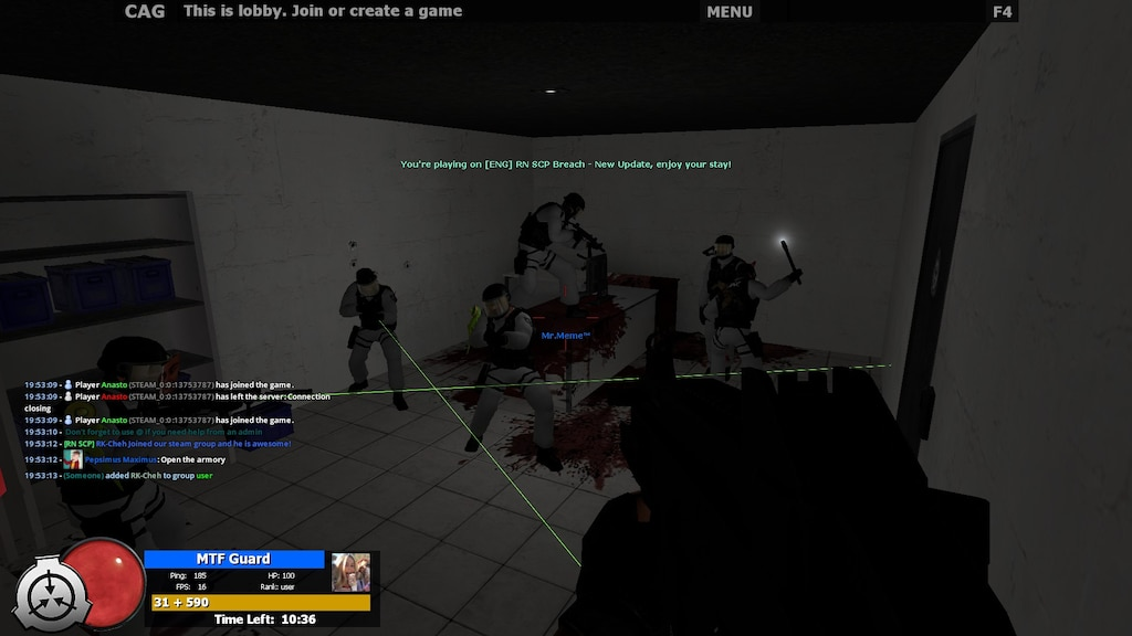 Steam Community :: Screenshot :: when you got stuck in a room with MTF'S