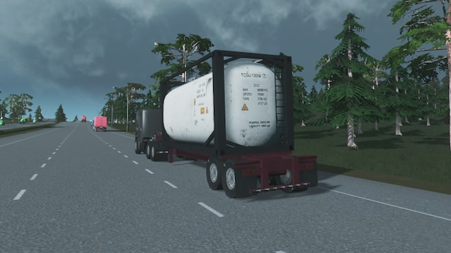 Steam Workshop :: Peterbilt 362 w/ Drop Deck Tank