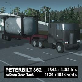 Steam Workshop :: Peterbilt 362 w/ Drop Deck Tank
