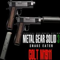 Steam Workshop :: Metal Gear M1911 Custom Mgs4