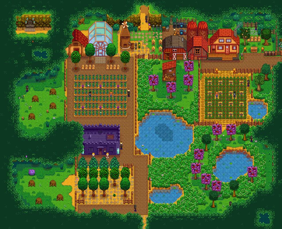 Steam Community :: :: Shady Acres Forest Farm