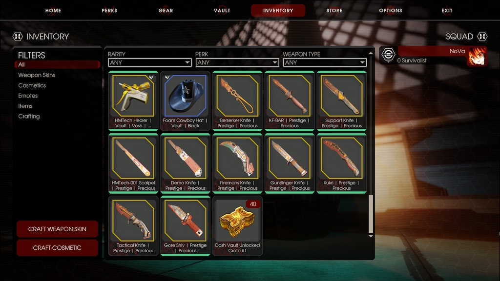 Steam 社区:: 截图:: 40 Vault crates and all unique 1st tier