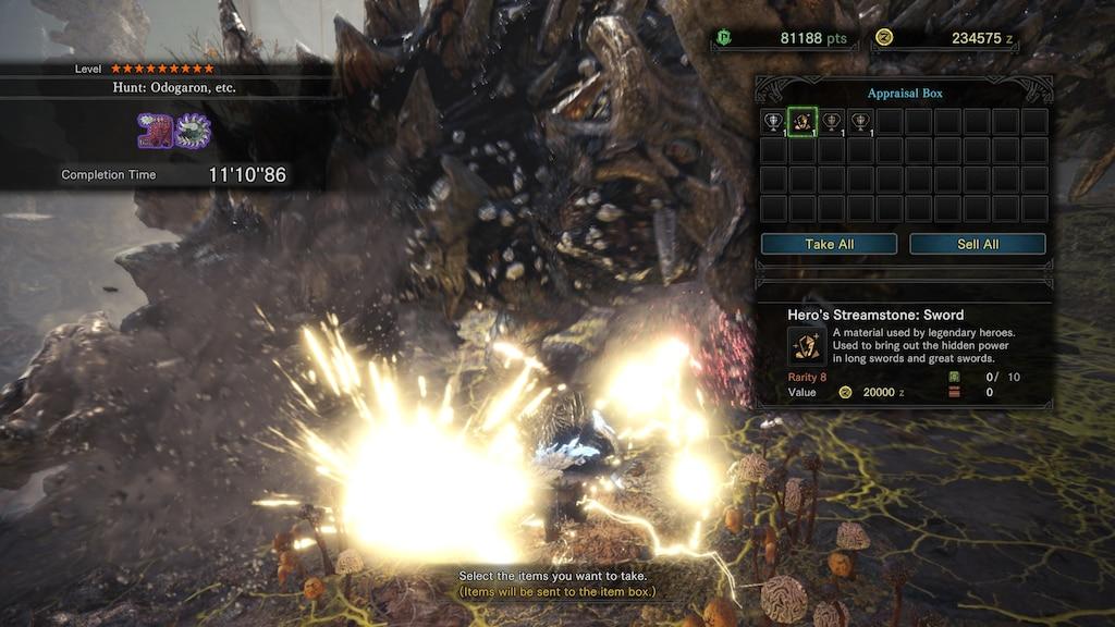 streamstones monster hunter world