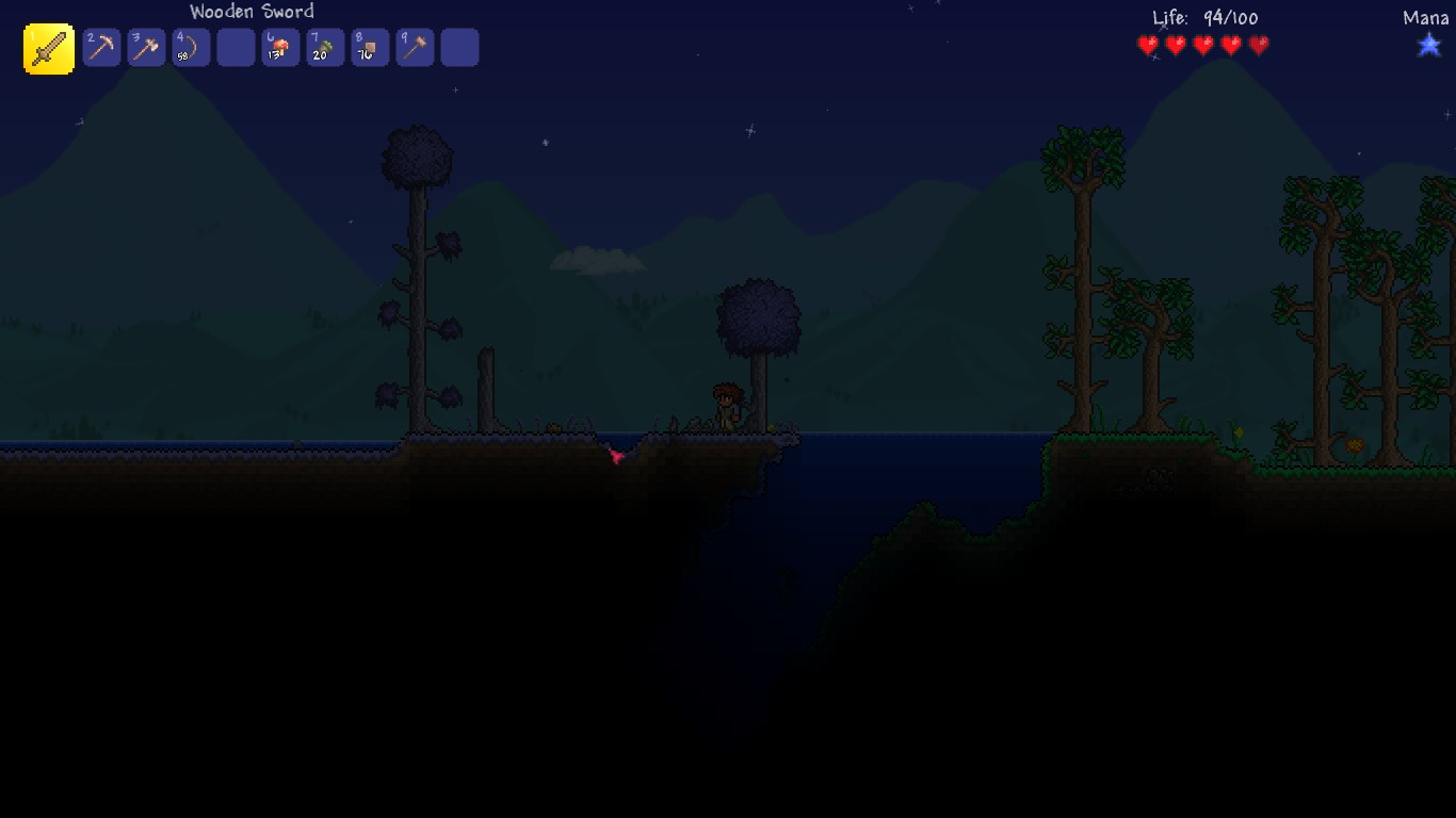 Steam Community Guide Terraria A Basic Guide For Your First Night