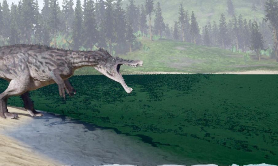 Dinosaur Isle External View