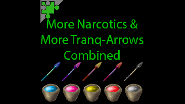 Steam workshop more narcotics more tranq arrows combined v30 malvernweather Choice Image