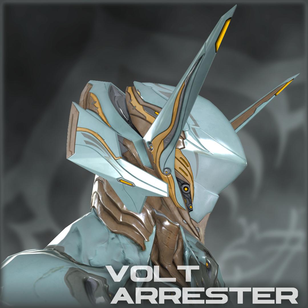 Steam Workshop :: Volt Arrester - Alt Helmet Warframe Volt Helmet