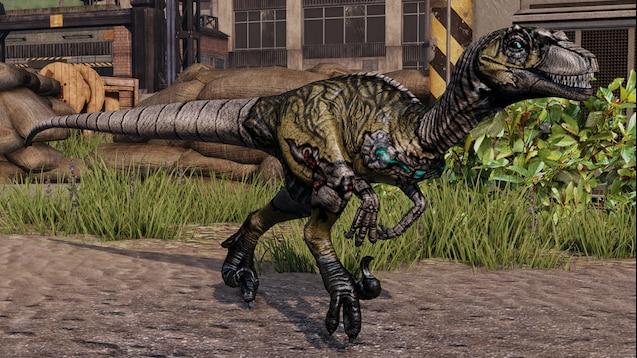 Steam Workshop :: Cyborg Raptor X66