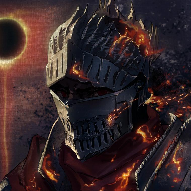 Dark Souls Mask Wallpaper Engine