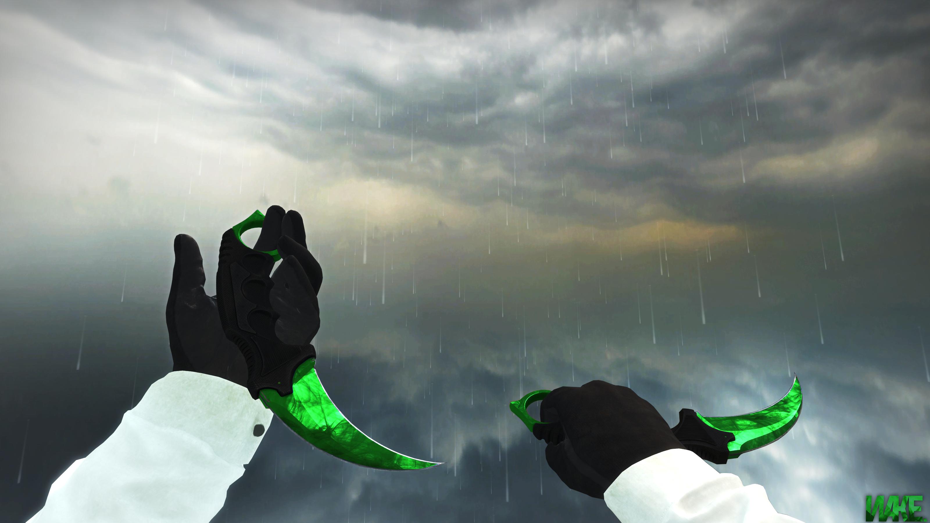 Steam Community Karambit Doppler Emerald