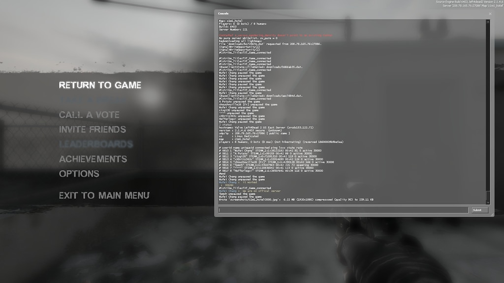 Steam Community :: Screenshot :: Official servers work people