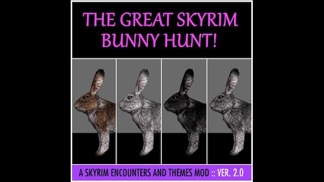 Skyrim Bunny