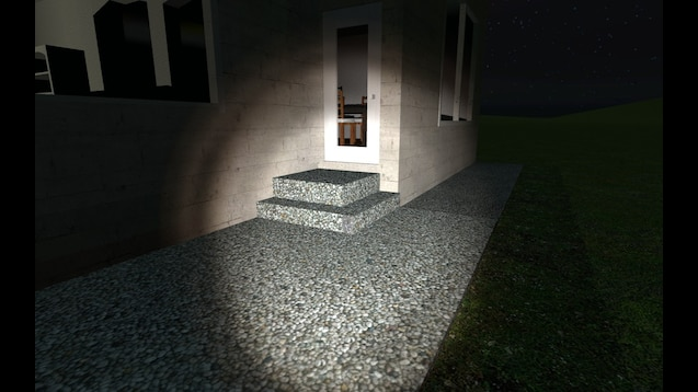 Remarkable Steam Workshop My Real Life House Night Time Download Free Architecture Designs Scobabritishbridgeorg