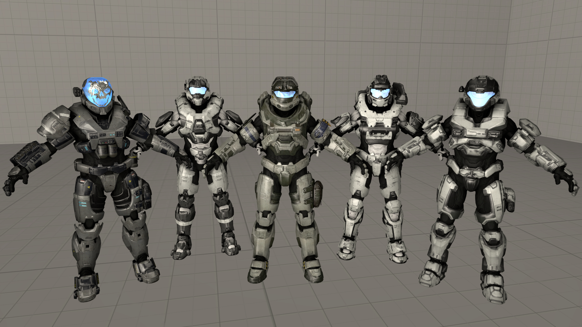 Steam Workshop Halo 5 Guardians Multiplayer Male Spartans Pack