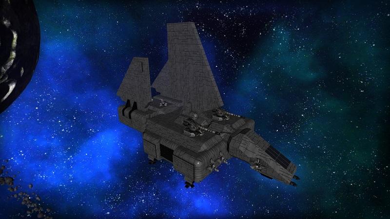 Star Wars Imperial Landing Craft - Sentinel Class Assault Version