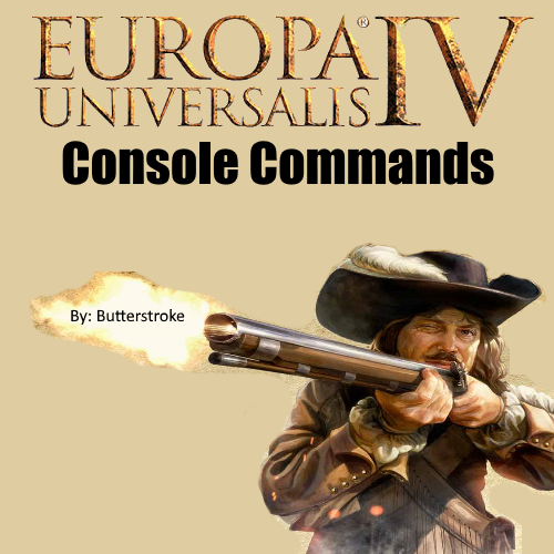 Open Commands For Console In EU4