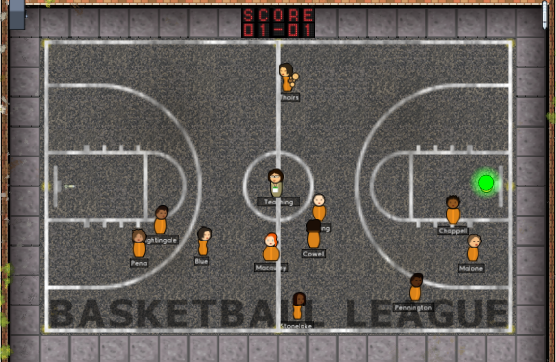 Real-time Basketball