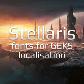 Russian Late fonts for GEKS localisation