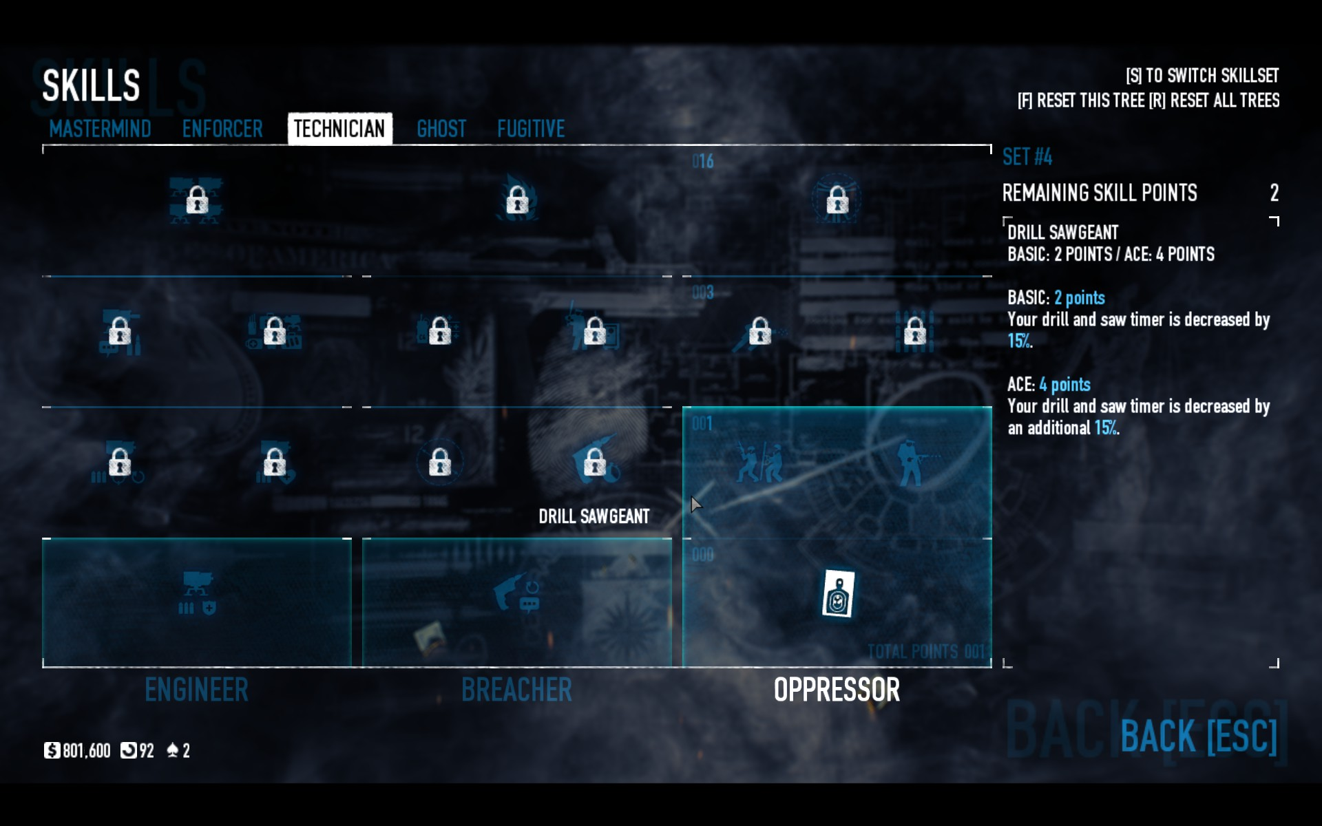 payday 2 loud build 2018
