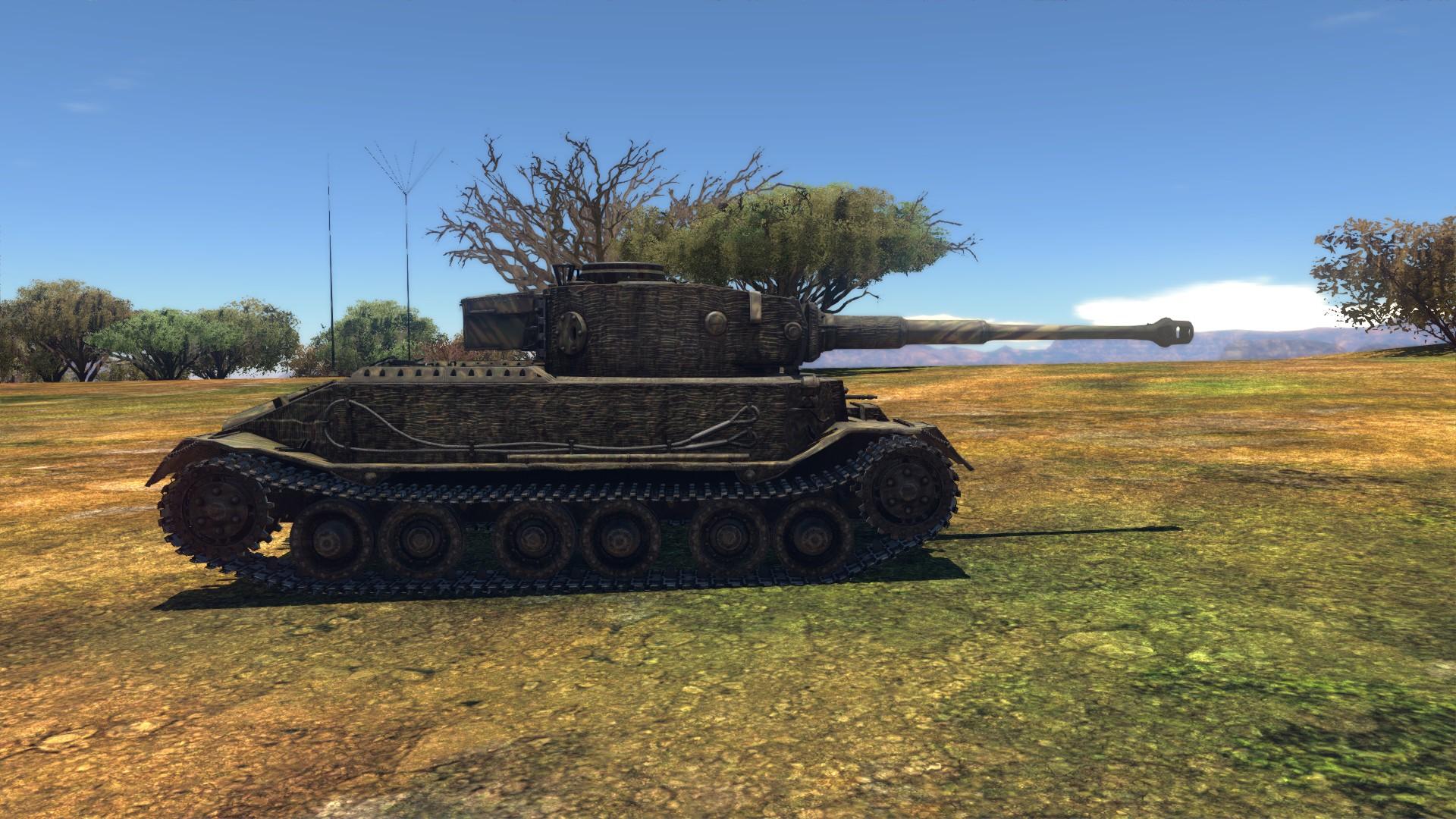 тигр порше в вар тандер