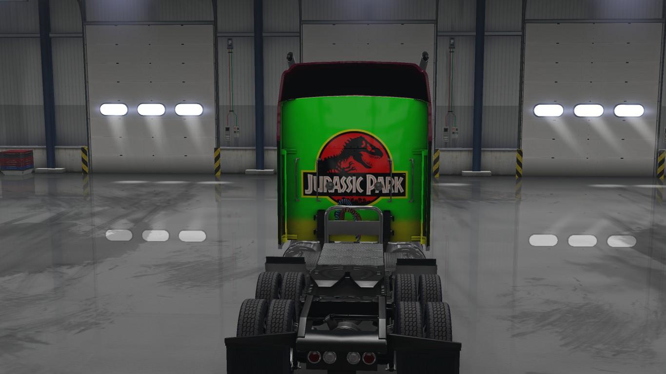 Jurassic Park Paintjob