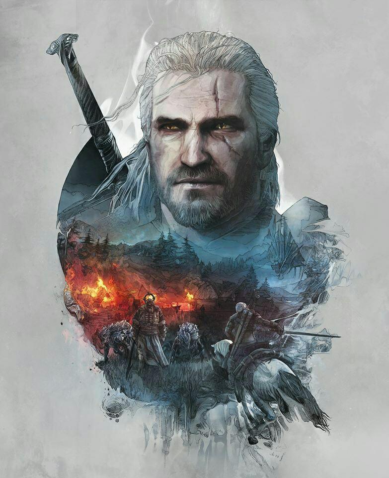 Steam Community Geralt Fan Art