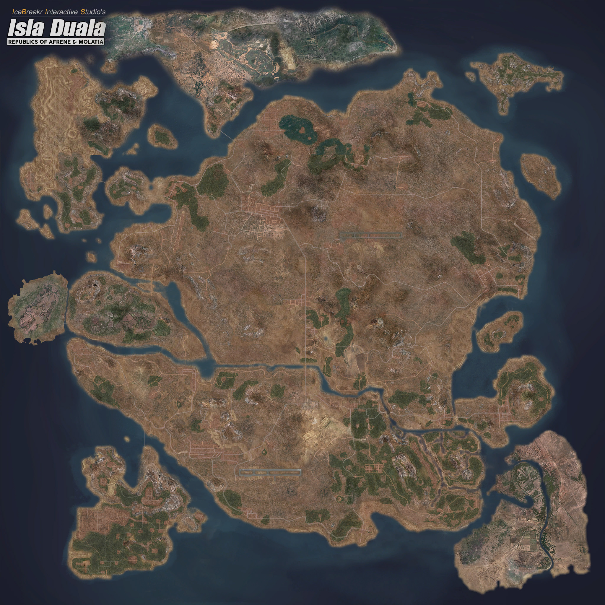 Arma 3 Africa Map Steam Workshop::Isla Duala