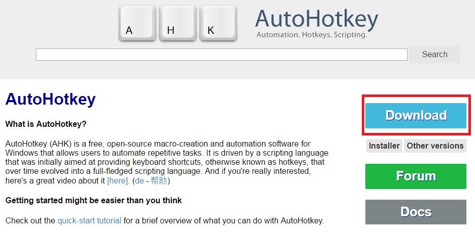 Steam Community :: Guide :: Rebind any key with AutoHotKey