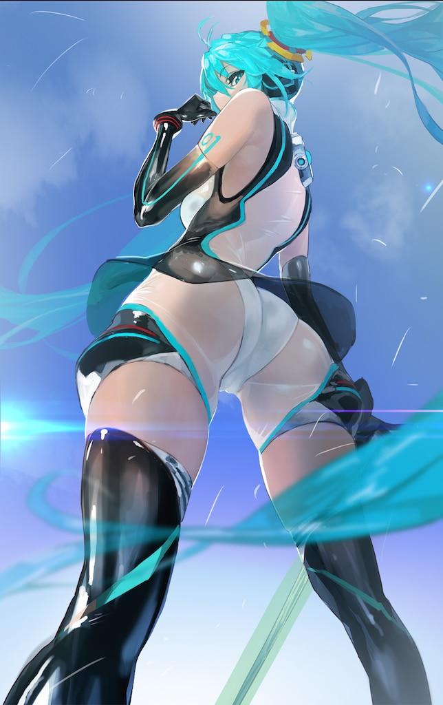 Hatsune miku sexy