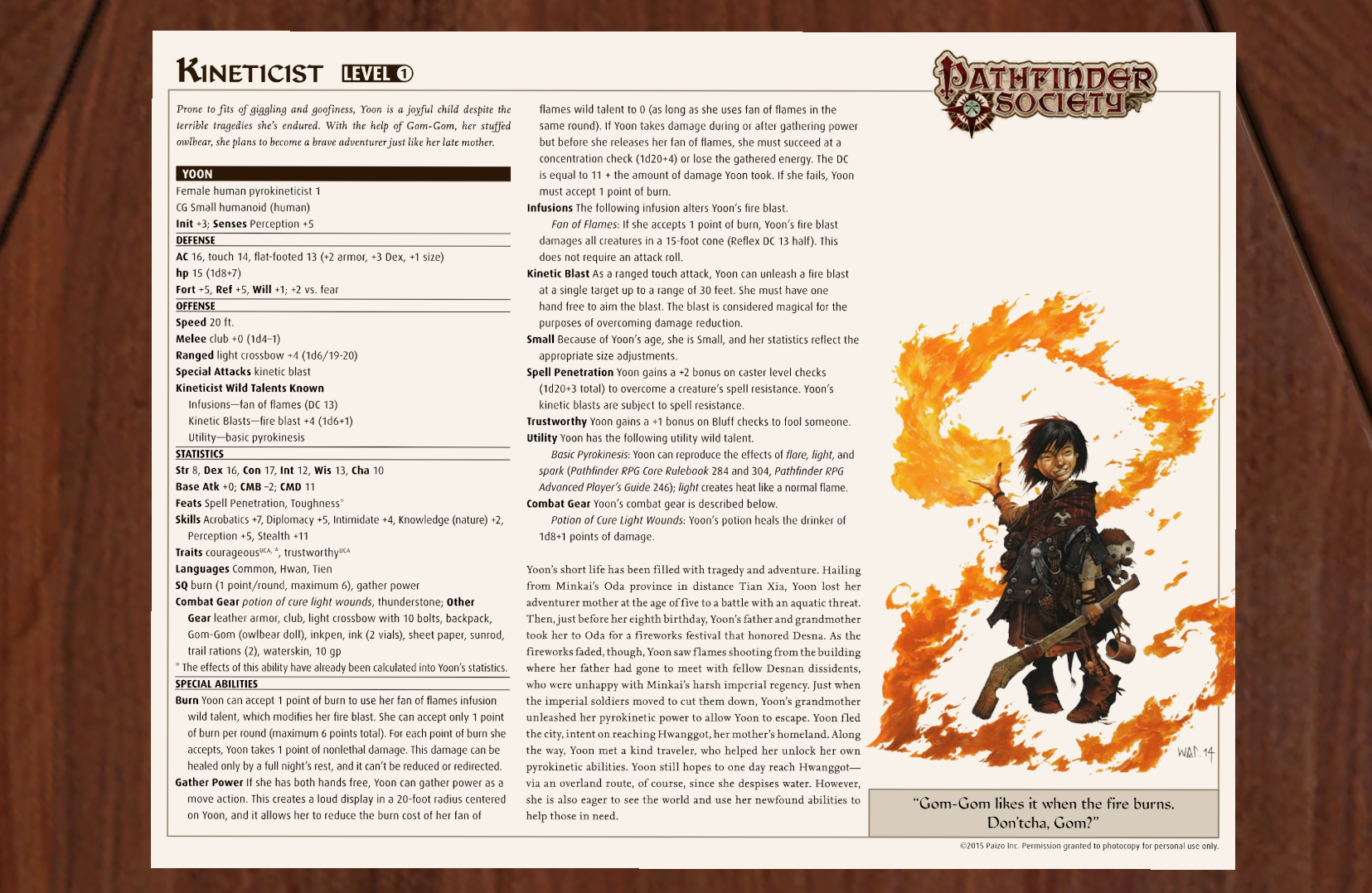 Steam Workshop :: Pathfinder Premade Character Sheets