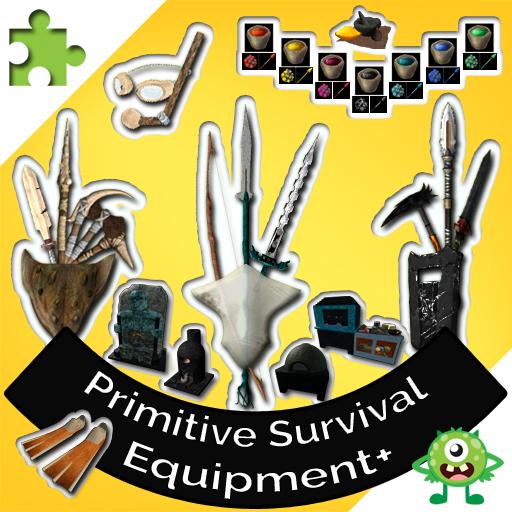 Primitive Survival Equipment+