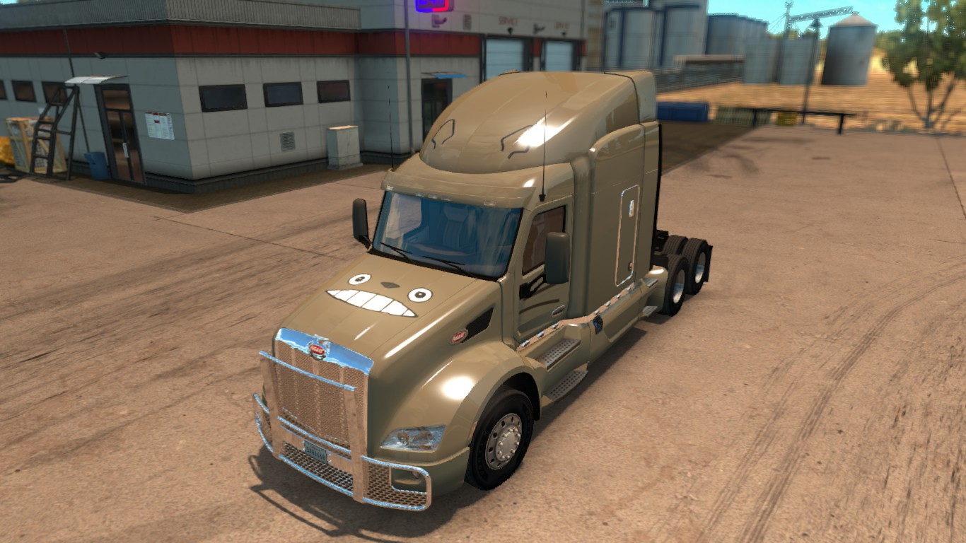 Totoro Paintjob For Peterbilt 579