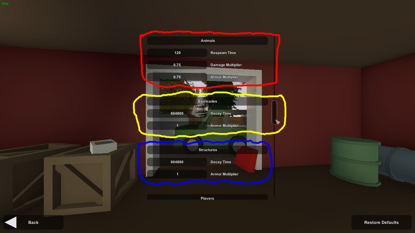 Steam Community :: Guide :: How to use the Gameplay Config in Unturned!
