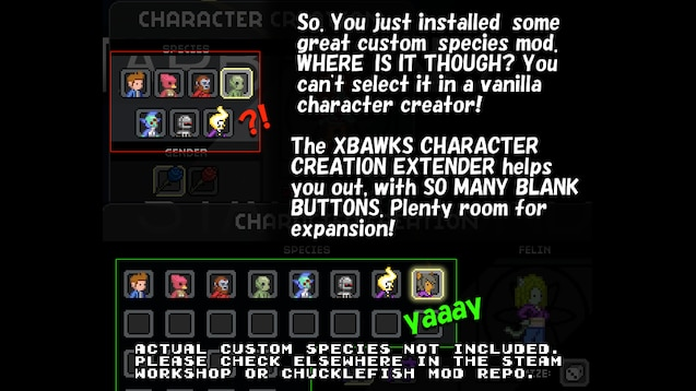 Steam Workshop :: Xbawks Character Extender