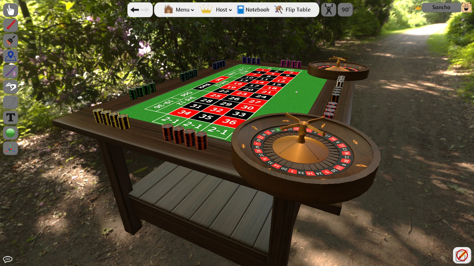 How to spin a roulette wheel in tabletop simulator little.caesars near me
