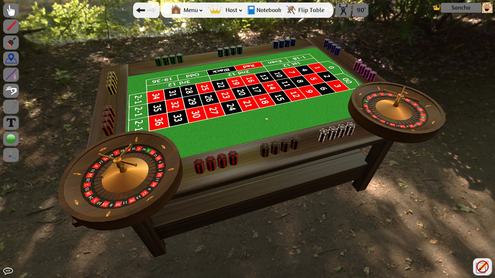 How to get the roulette in tabletop simulator bag of crap 2017