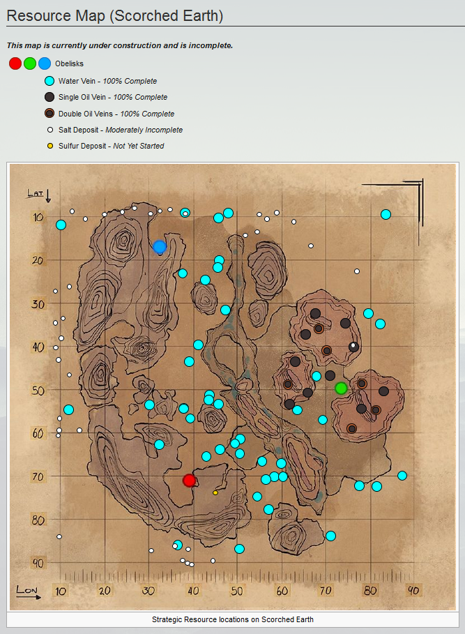 Steam Community :: :: Ark Scorched Earth   Resource Map