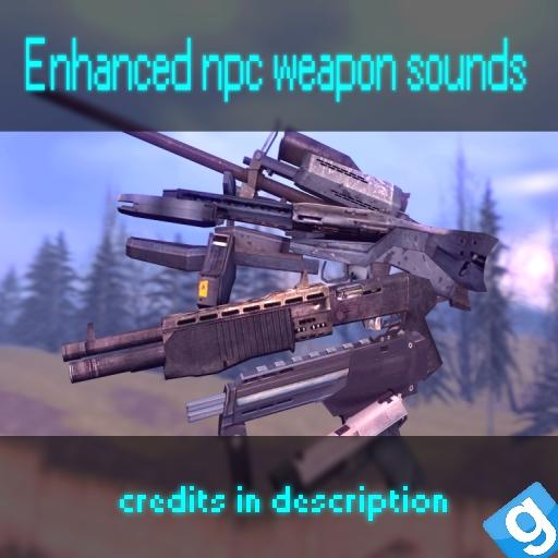 Enhanced npc weapon sounds