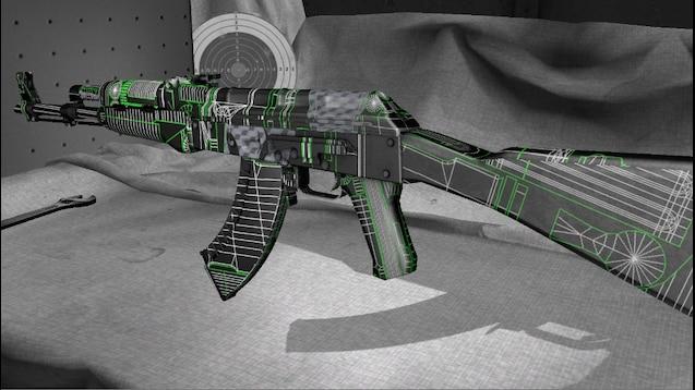 Steam Workshop :: AK-47 Blueprint