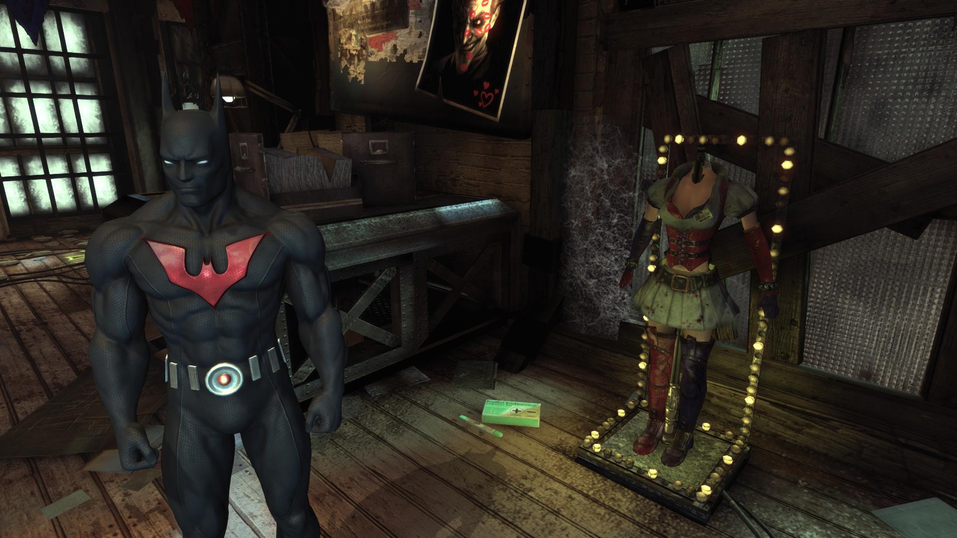 Пасхалки batman: arkham city в большом разрешении.