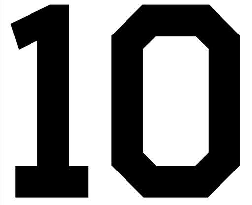 Днем, картинка с надписью 10