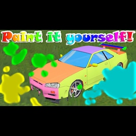 steam workshop paintable car template gt r