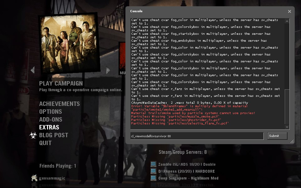 Steam Community :: Guide :: How to change the FOV in L4D2
