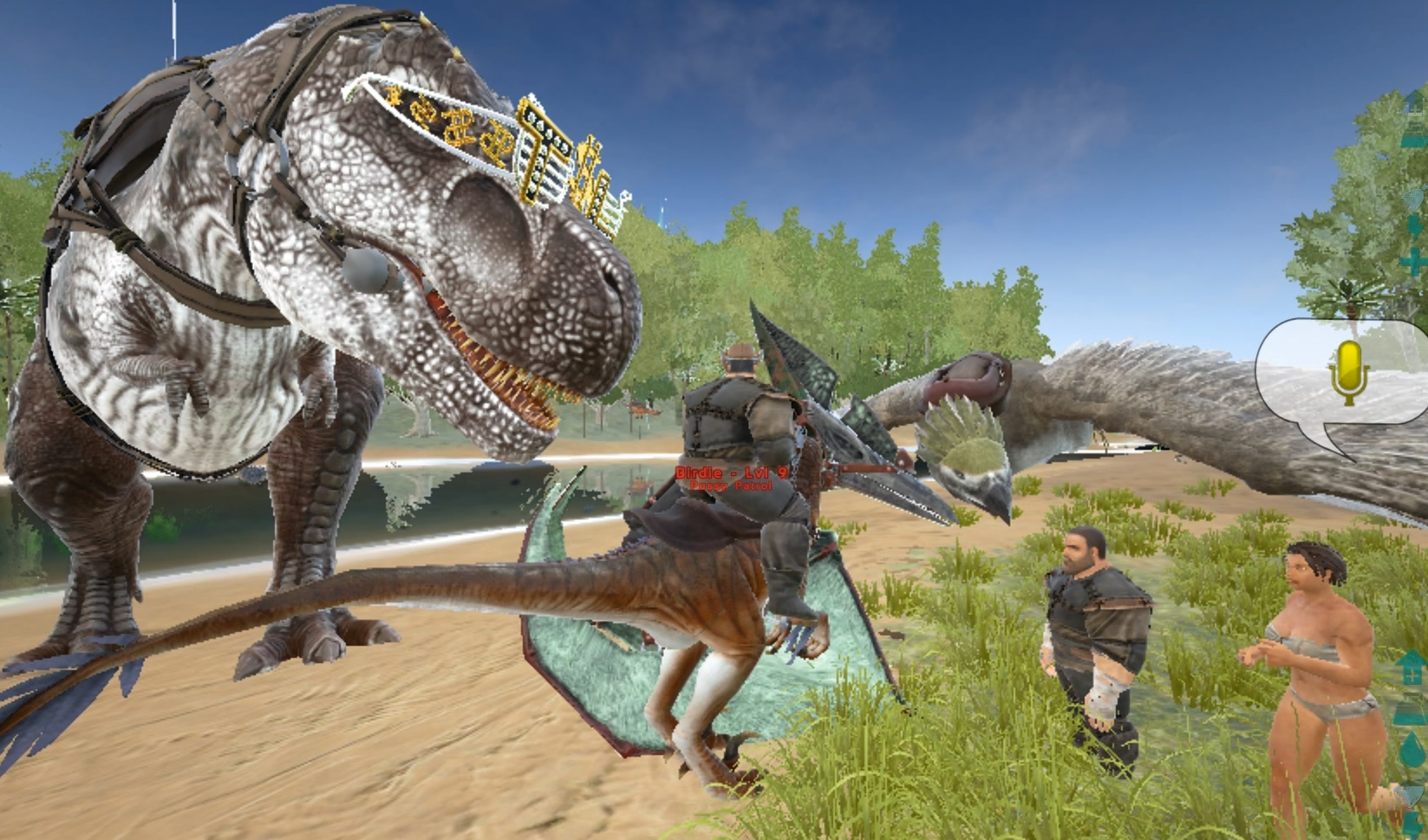 Can T Craft Baryonyx Saddle Ark
