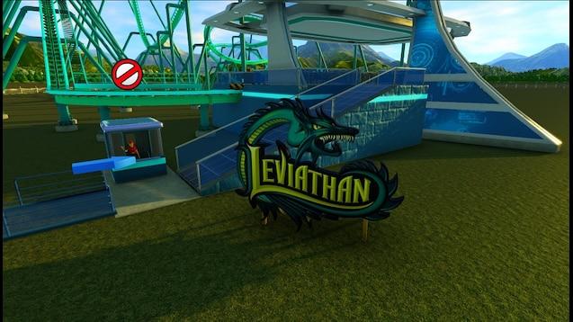 Steam Workshop :: Leviathan Rollercoaster sign